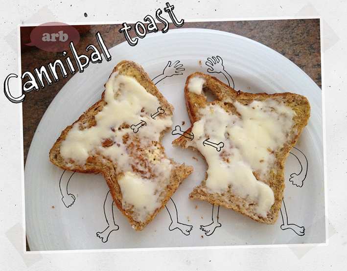 Cannibal toast